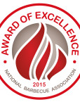 "NBBQA ""Award of Excellence"" Winner 2015"